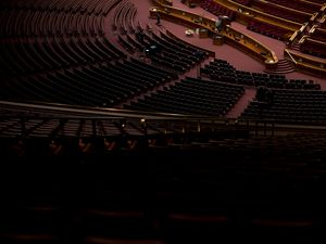 (Jeremy Harmon     The Salt Lake Tribune) The Conference Center sits empty on March 11, 2020. The public will not be admitted to the 20,000-capacity building for next month's General Conference due to the coronavirus pandemic.