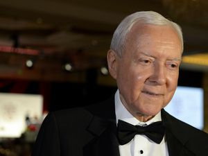 (Leah Hogsten     The Salt Lake Tribune)  Former Sen. Orrin G. Hatch, shown in 2018, has received the Canterbury Medal for his efforts to safeguard religious freedom.