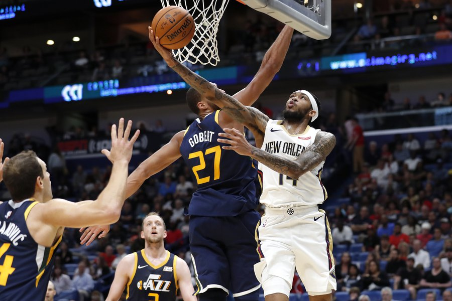 Jazz drop preseason game at New Orleans, falling 128-127