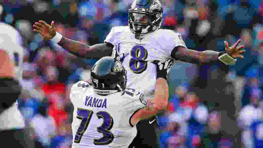 NFL roundup: Ravens clinch playoffs; Chiefs clinch AFC West