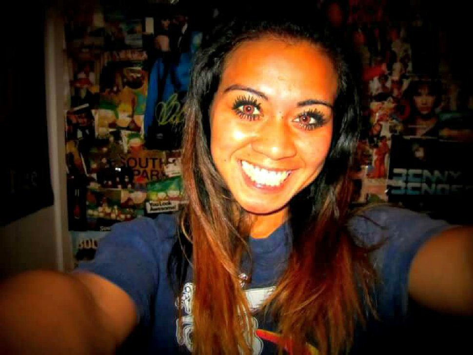 (Photo courtesy of Cameron Lindberg) Mechelle Lindberg was found dead in a Salt Lake City hotel Tuesday morning. Police are searching for two people believed to be with Lindberg before she died.