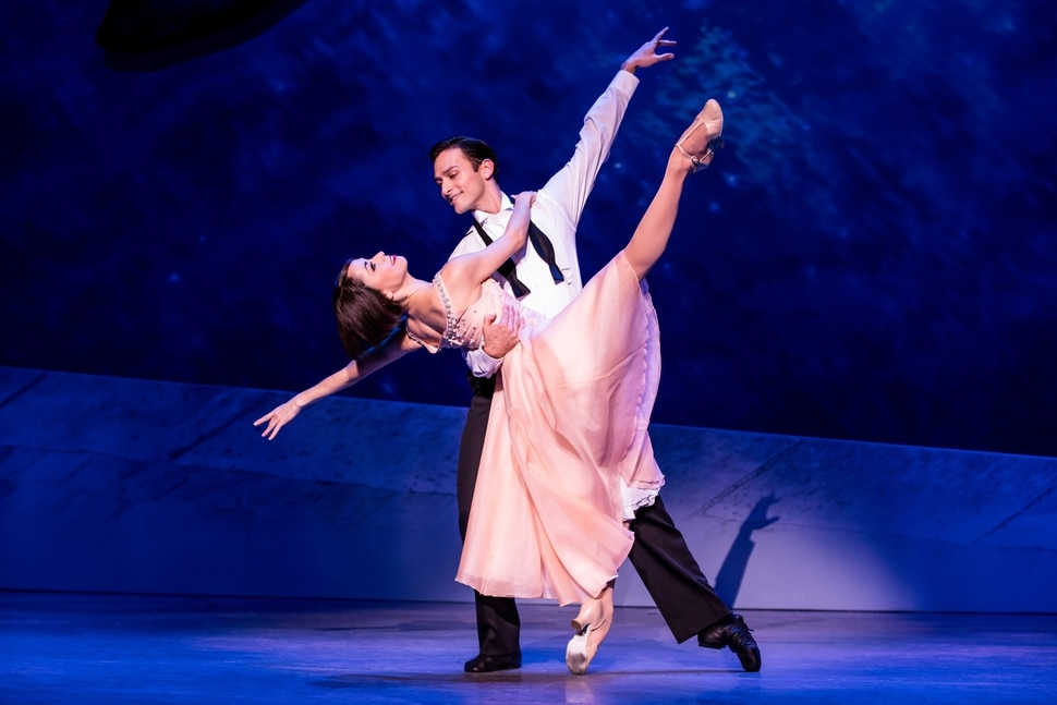 (Courtesy Matthew Murphy) Sara Esty and Garen Scribner in An American in Paris. The touring production hits Salt Lake City's Eccles Theater on Oct. 10-15.