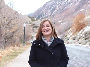 (Screen capture via Salt Lake County) Mayor Jenny Wilson delivers the 2021 State of Salt Lake County address in a video shared Thursday, Feb. 25, 2021.