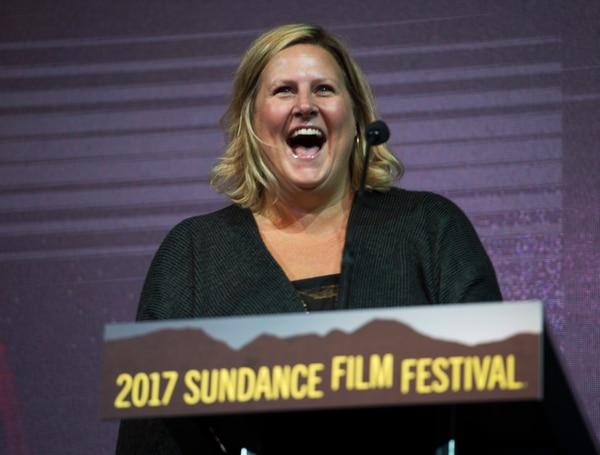 Rick Egan   The Salt Lake Tribune Bridget Everett at the 2017 Sundance Film FestivalÕs Awards Ceremony, Saturday, January 28, 2017.