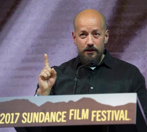 Rick Egan   The Salt Lake Tribune Director Tarik Salehat receives the World Cinema Grand Jury Prize: Dramatic for his film, ÒThe Nile Hilton Incident,Ó at the 2017 Sundance Film FestivalÕs Awards Ceremony, Saturday, January 28, 2017.