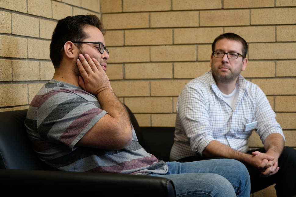(Francisco Kjolseth | The Salt Lake Tribune) Pablo Arcia, left, is one of thousands of young immigrants who was brought into the country illegally when he was 7-years-old and is now facing possible deportation with the announcement by President Trump that he will