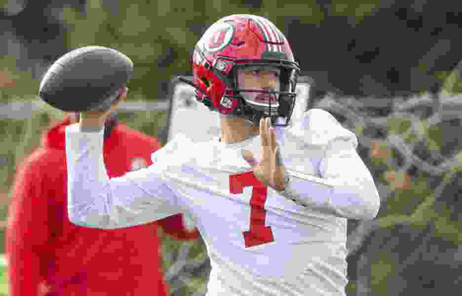Cameron Rising came to Utah for a shot at the starting QB job; COVID-19 put that on hold