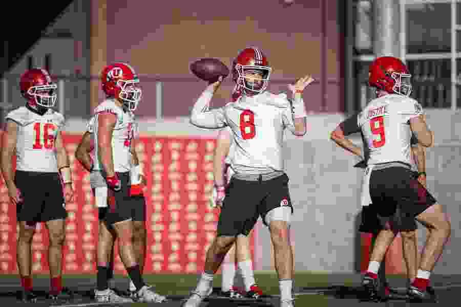 Utah football's three-way QB competition enters second week