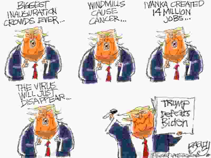 Bagley Cartoon: Pants on Fire
