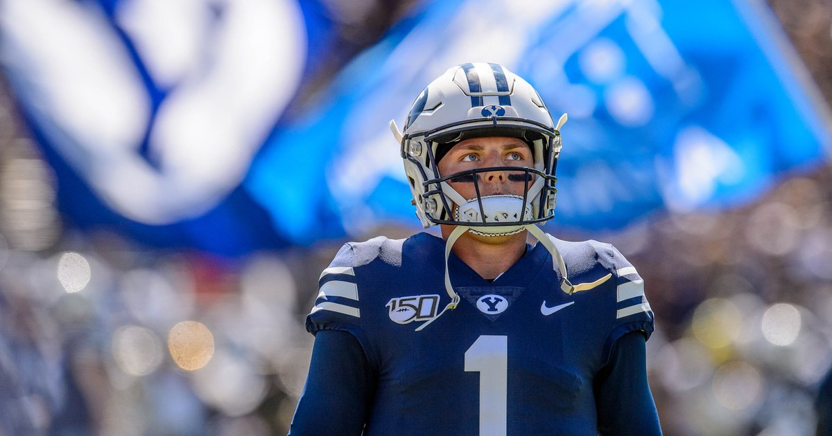 BYU quarterback Zach Wilson has surgery on throwing hand and will be sidelined until November, but he is expected to return