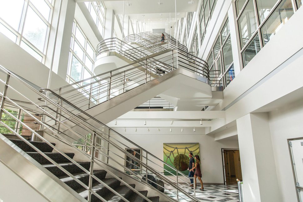 (Courtesy Photo) The lobby of the Eccles Genetic Institute.