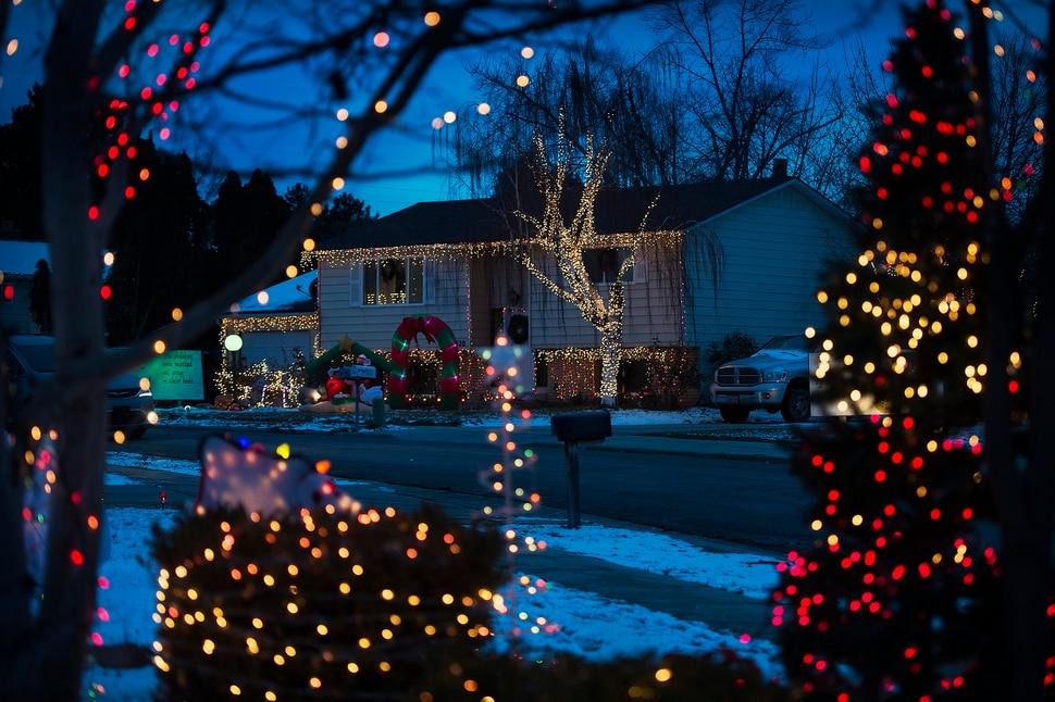 Modern Display Christmas Lights