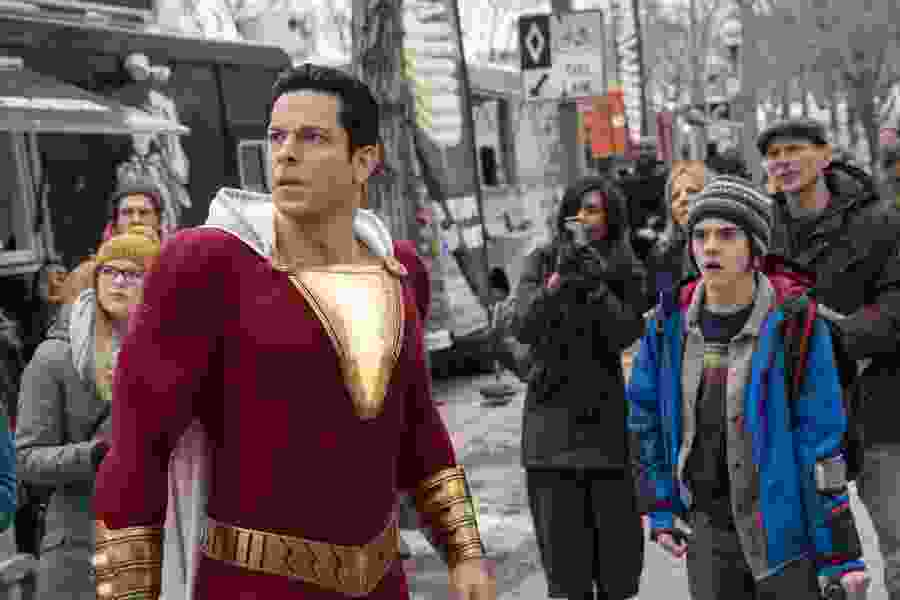 Review: DC's 'Shazam!' finds the fun side of a superhero origin story
