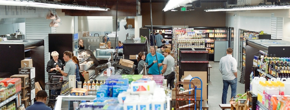 (Leah Hogsten | The Salt Lake Tribune) The Store, a locally owned independent specialty grocery store, will open at 90 South Rio Grande Street, on Friday, August 23, 2019.