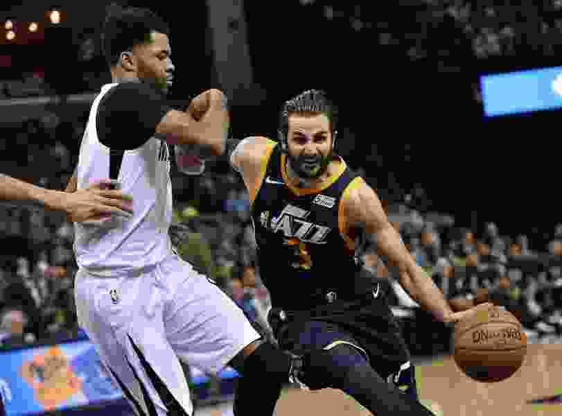 Jazz guard Ricky Rubio questionable for Sunday with hip injury