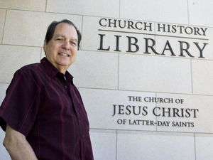 (Salt Lake Tribune file photo) Renowned historian D. Michael Quinn at the LDS Church History Library on Aug. 9, 2013. He has died at age 77.