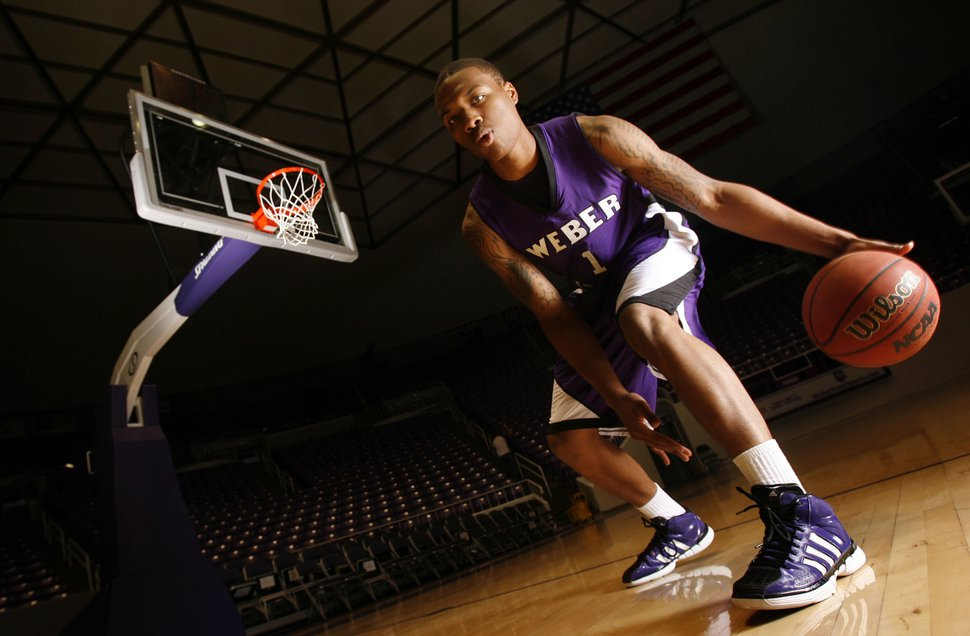 (Francisco Kjolseth | Tribune file photo) Weber State guard Damian Lillard, pictured here in 2011, was the state's best college basketball player at the time.