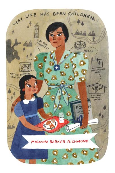 Holly Richardson: Meet Mignon Barker Richmond, tireless advocate for children