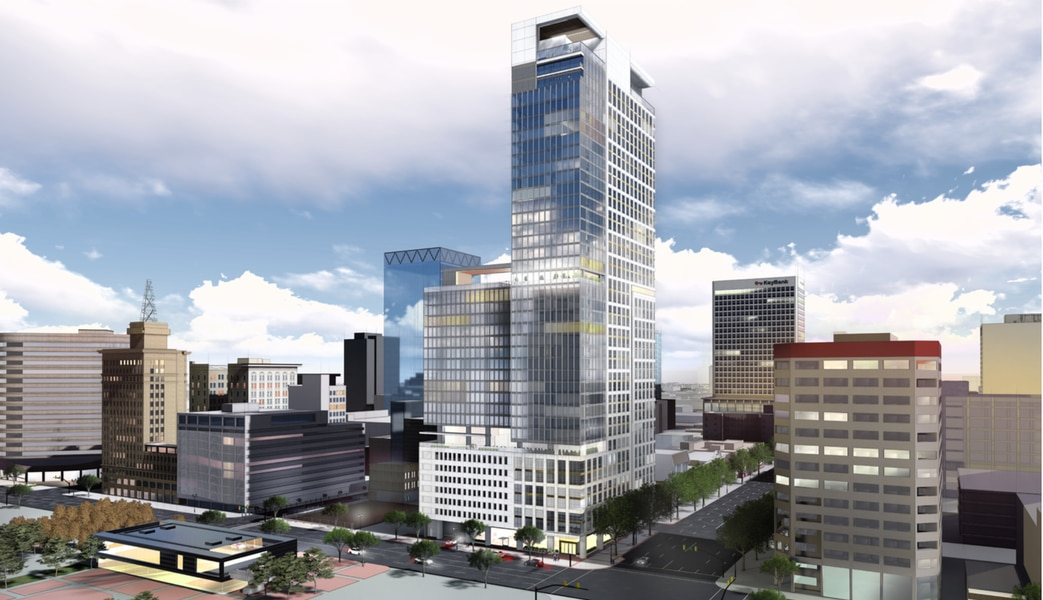 Salt Lake City is getting another new skyscraper. This one would push beyond city's height limit.