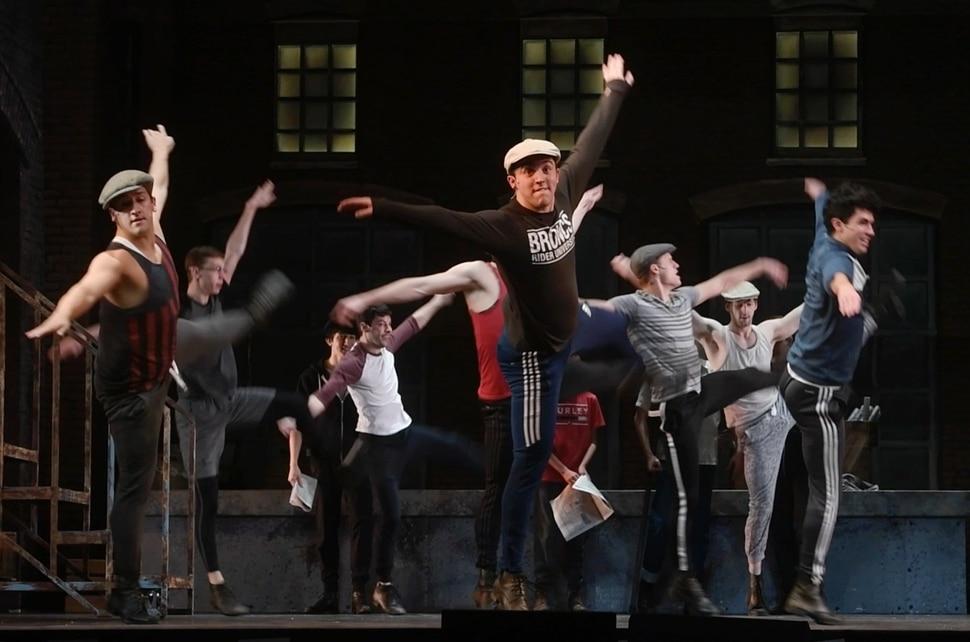(Rick Egan | The Salt Lake Tribune) Pioneer Theatre Company rehearses the acrobatic anthem