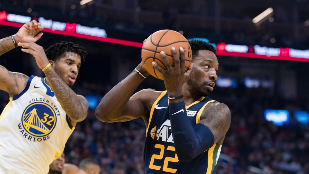 Jazz cruise past Warriors 122-108 in first trip to San Francisco's new Chase Center