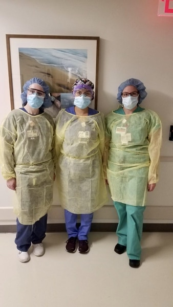 (Photo Courtesy of Intermountain Healthcare) Pictured is Intermountain staff working at Northwell Health's Southside Hospital in New York.