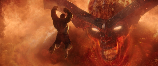 (Marvel Studios via AP) This image released by Marvel Studios shows a scene from
