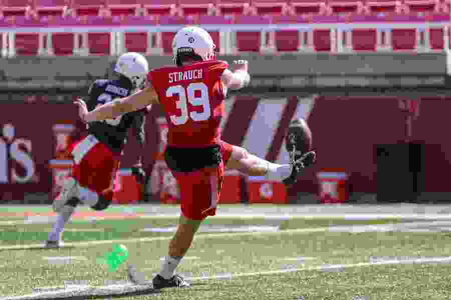Utah names UCLA transfer Andrew Strauch the No. 1 kicker as camp concludes