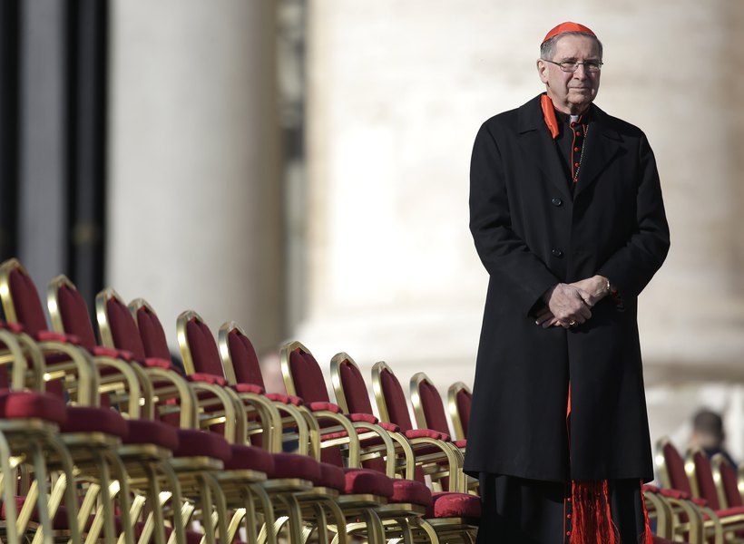 Embattled Cardinal Mahony cancels speech at Utah Catholic event in wake of sex abuse report