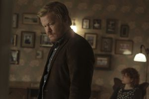 """(Photo courtesy of Mary Cybulski/Netflix)  Jesse Plemons, left, and Jessie Buckley in a scene from """"I'm Thinking of Ending Things."""""""