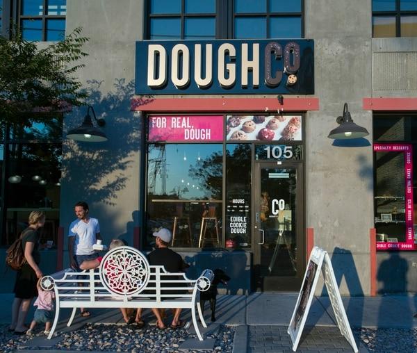 Rick Egan | The Salt Lake Tribune Dough Co., a new dessert shop in Sugar House that sells scoops of