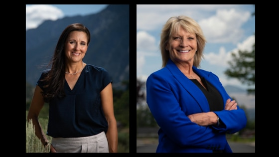 (Francisco Kjolseth | Tribune file photos) Dea Theodore, left, and Terri Hrechkosy are both candidates for Salt Lake County Council District 6.
