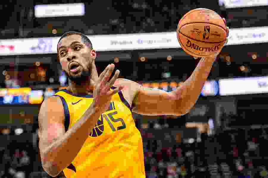 Jazz big man Derrick Favors is 'playing out of this world,' and everyone is noticing