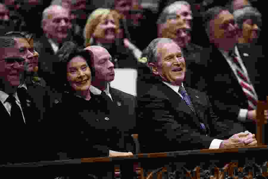Jennifer Rubin: As patriot and role model, Bush 41 has no current peer