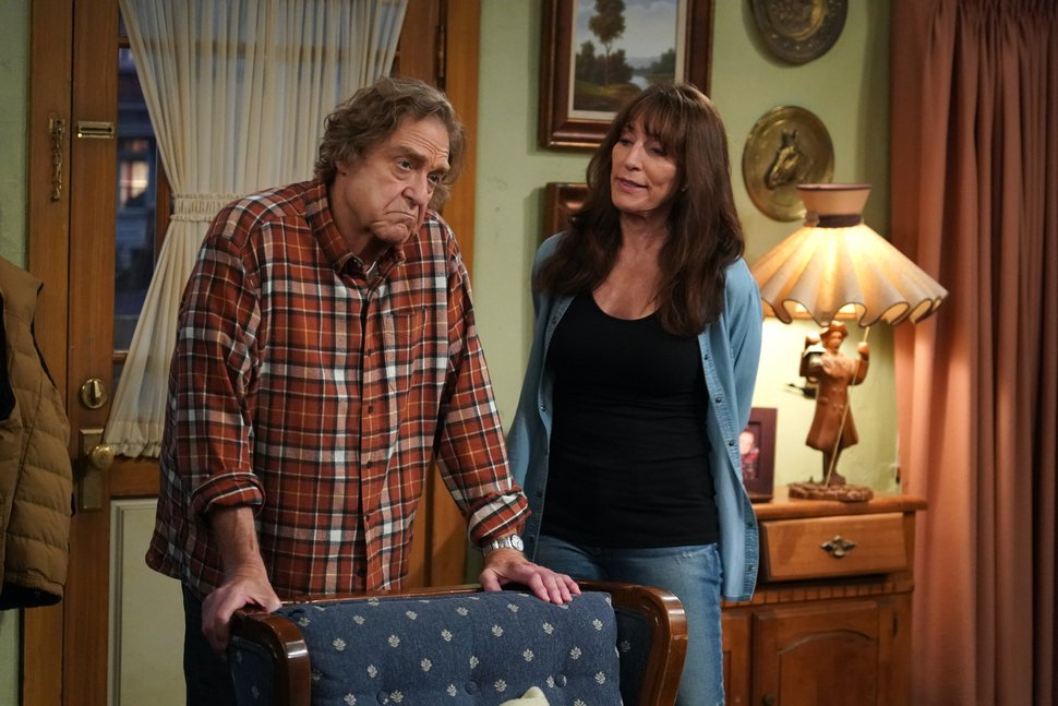 (Photo courtesy of Eric McCandless/ABC) John Goodman and Katey Sagal in the Season 3 premiere of