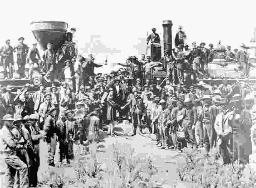 Historic telegrams tell the story of how the Transcontinental Railroad ushered in new era