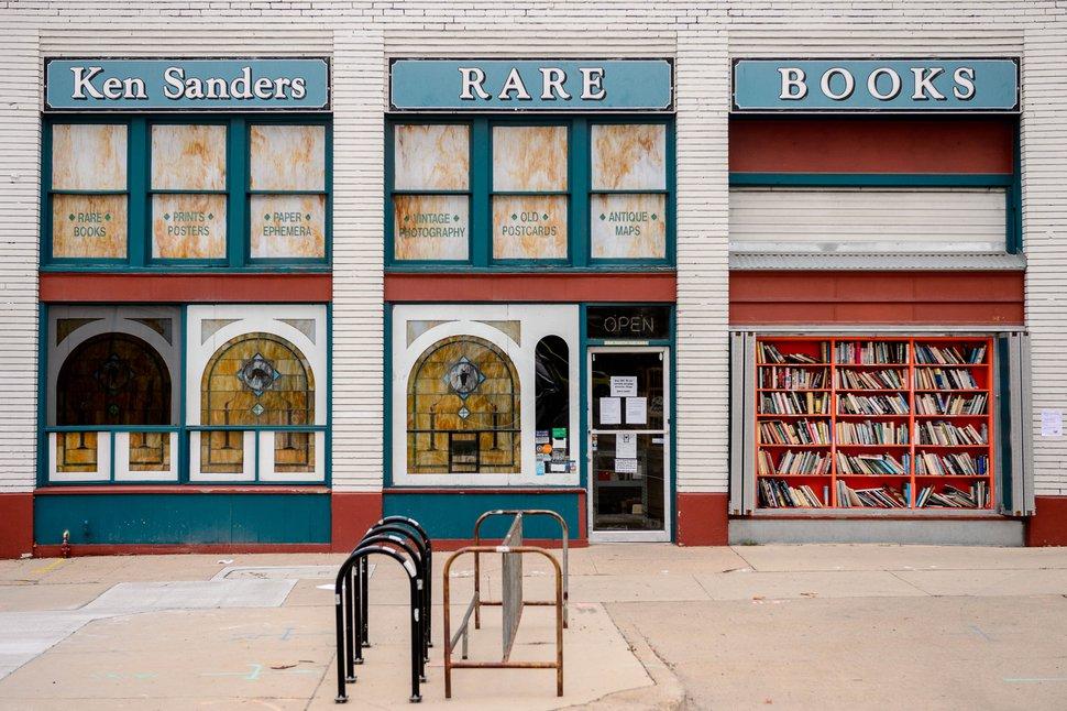 (Trent Nelson | The Salt Lake Tribune) Ken Sanders Rare Books in Salt Lake City on Tuesday, March 31, 2020.