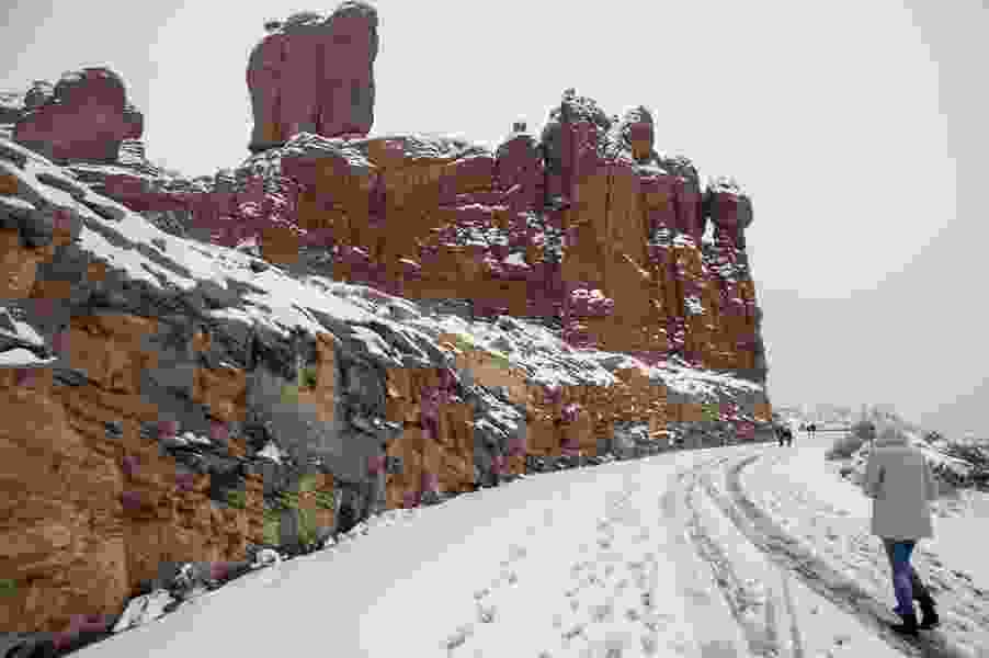 Arches, Canyonlands to reopen, thanks to state snowplowing the roads and nonprofits staffing the parks