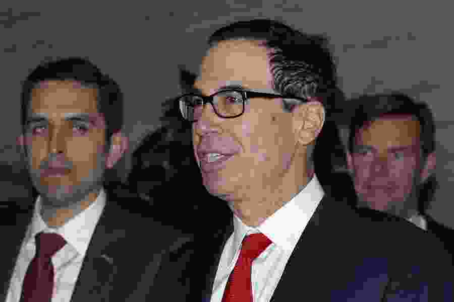 Dana Milbank: Lock Mnuchin up! (And give Maxine Waters the key.)