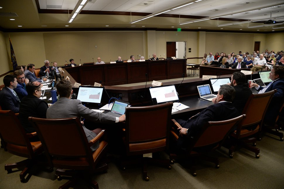 (Francisco Kjolseth   Tribune file photo) The tax reform task force holds its first meeting at the Utah Capitol on Monday, Aug. 19, 2019, after a statewide listening tour to gather input on changes to the tax code and other options for addressing the state's reported budgetary challenges.